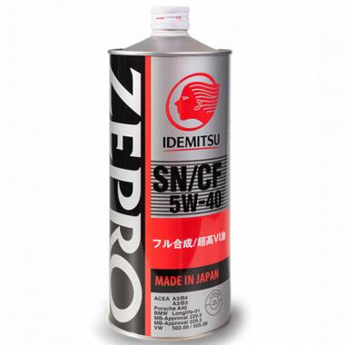 Моторное масло Idemitsu ZEPRO 5W-40 1 литр.