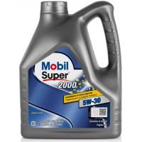 Моторное масло Mobil Super 2000 X1 5W-30 4 литра.