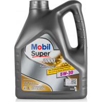 Моторное масло Mobil Super 3000 X1 F-FE 5W-30 4 литра.