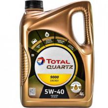 Моторное масло Total Quartz Energy 9000 5W-40 4 литра.