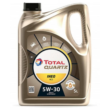 Моторное масло Total Quartz Ineo MC3 5W-30 5 литров.
