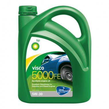 Моторное масло Visco 5000 FE 5W-30 4 литра.