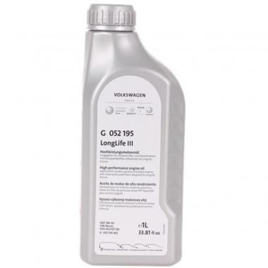 Моторное масло VW Audi Skoda Longlife III 5W-30 1 литр.