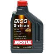 Моторное масло MOTUL 8100 X-clean 5W-40 2 литра.