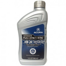Моторное масло Acura Ultimate Motor Oil 0W-20 0,946 литра.