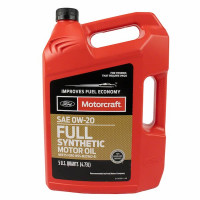 Моторное масло Ford Motorcraft Full Synthetic 0W-20 4,73 литра.