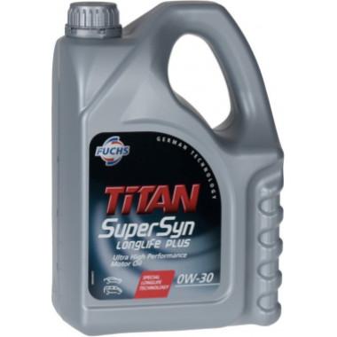 Моторное масло Fuchs Titan SuperSyn LongLife Plus 0W-30 1 литр.