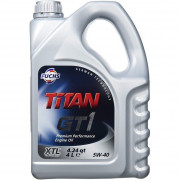 Моторное масло Fuchs Titan GT 1 5W-40 4 литра.