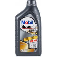 Моторное масло Mobil Super 3000 X1 DIESEL 5W-40 1 литр.