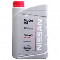 Моторное масло Nissan 5W-40 1 литр.