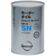 Моторное масло Nissan Strong Save X 5W-30 1 литр.