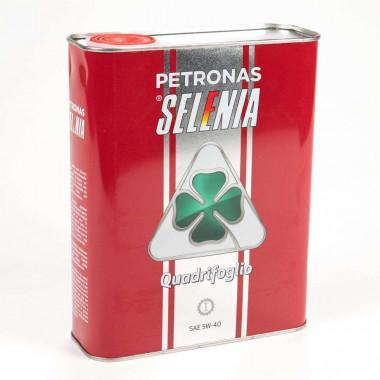 Моторное масло Petronas Selenia Quadrifoglio 5W-40 2 литра.