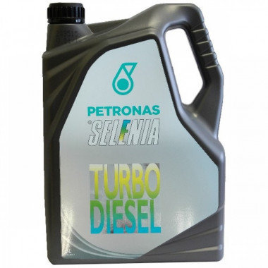 Моторное масло Petronas Selenia Turbo Diesel 10W-40 5 литров.