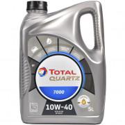 Моторное масло Total Quartz 7000 10W-40 5 литров.