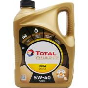 Моторное масло Total Quartz Energy 9000 5W-40 5 литров.