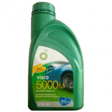 Моторное масло Visco 5000 M 5W-30 1 литр.