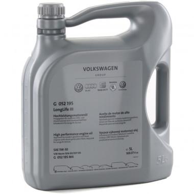 Моторное масло VW Audi Skoda Longlife III 5W-30 5 литров.