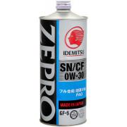 Моторное масло Idemitsu ZEPRO Touring PRO SN/GF-5 0W-30 1 литр.
