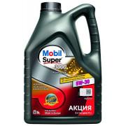Моторное масло Mobil Super 3000 X1 F-FE 5W-30 5 литров.