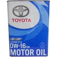 Моторное масло Toyota Motor Oil SP 0W-16 4 литра.
