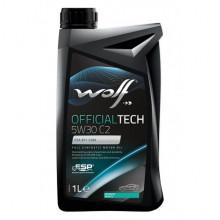 Моторное масло Wolf OFFICIALTECH 5W-30 C2 1 литр.