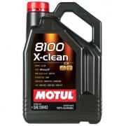 Моторное масло MOTUL 8100 X-clean 5W-40 4 литра.