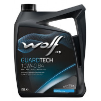 Моторное масло Wolf GUARDTECH 10W-40 B4 5 литров.