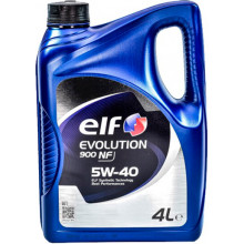 Моторное масло Elf Evolution 900 NF 5W-40 4 литра.