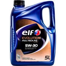 Моторное масло Elf Evolution FullTech FE 5W-30 5 литров.