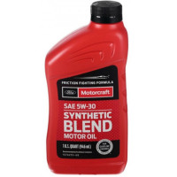 Моторное масло Ford Motorcraft Synthetic Blend 5W-30 0,946 литра.