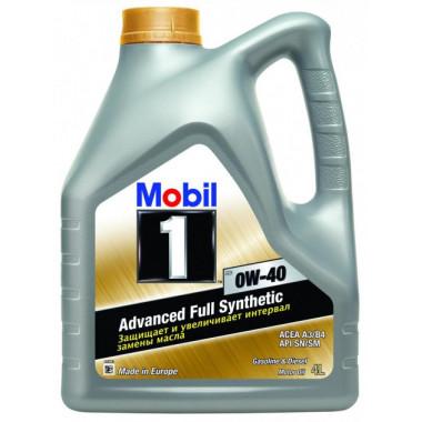 Моторное масло Mobil 1 FS 0W-40 4 литра.