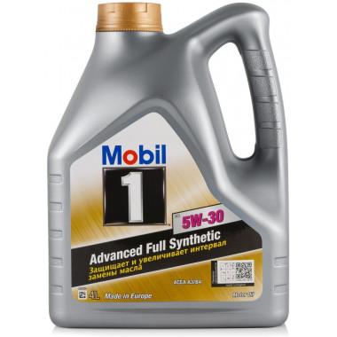 Моторное масло Mobil 1 FS 5W-30 4 литра.