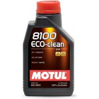 Моторное масло MOTUL 8100 Eco-clean 5W-30 1 литр.