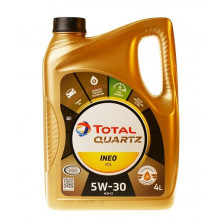 Моторное масло Total Quartz Ineo ECS 5W-30 4 литра.