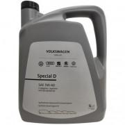 Моторное масло VW Audi Skoda Special D 5W-40 5 литров.