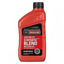 Моторное масло Ford Motorcraft Synthetic Blend 0W-20 0,946 литра.