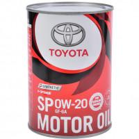 Моторное масло Toyota Motor Oil SP 0W-20 1 литр.