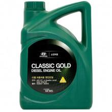 Моторное масло Hyundai Kia Classic Gold Diesel 10W-30 4 литра