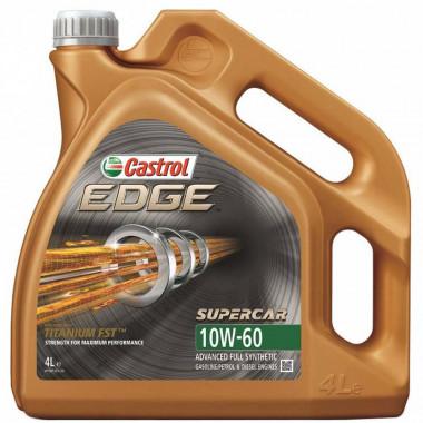 Моторное масло Castrol EDGE SUPERCAR 10W-60 4 литра.