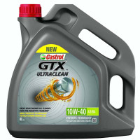 Моторное масло Castrol GTX ULTRACLEAN 10W-40 A3/B4 4 литра.