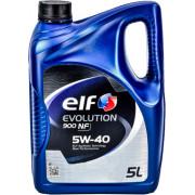 Моторное масло Elf Evolution 900 NF 5W-40 5 литров.