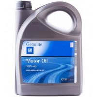 Моторное масло GM Semi Synthetic 10W-40 5 литров.