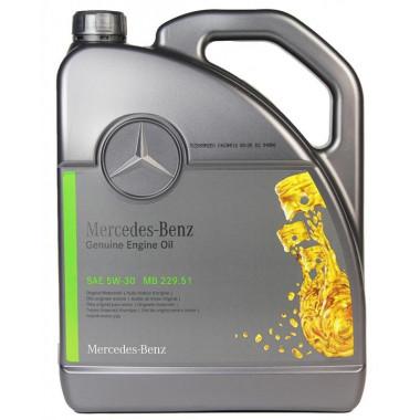 Моторное масло Mercedes-Benz 5W-30 (229.51) 5 литров.