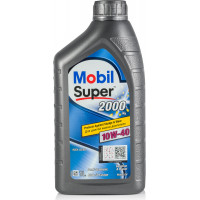 Моторное масло Mobil Super 2000 X1 10W-40 1 литр.