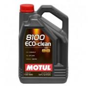 Моторное масло MOTUL 8100 Eco-clean 5W-30 5 литров.