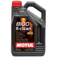 Моторное масло MOTUL 8100 X-clean 5W-40 5 литров.