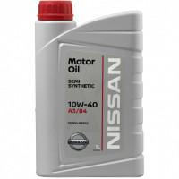 Моторное масло Nissan 10W-40 1 литр.