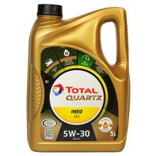 Моторное масло Total Quartz Ineo ECS 5W-30 5 литров.