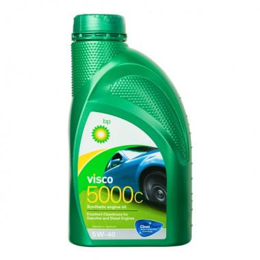 Моторное масло Visco 5000 C 5W-40 1 литр.