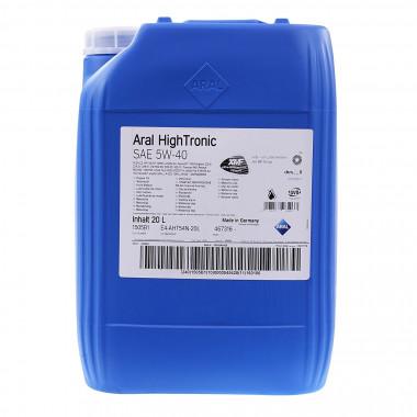 Моторное масло Aral HighTronic 5W-40 20 литров.
